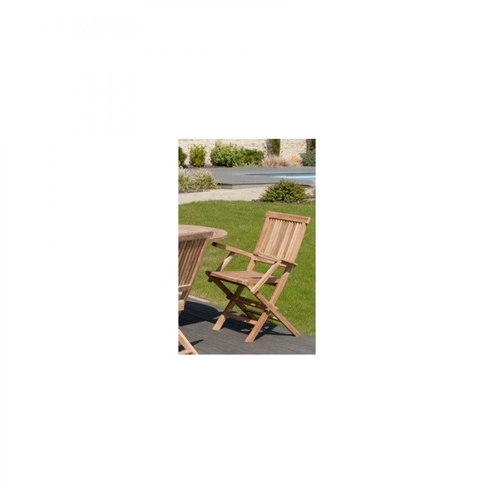 Chaises tables et chaises fauteuil de jardin java en - Fauteuil de jardin en teck ...