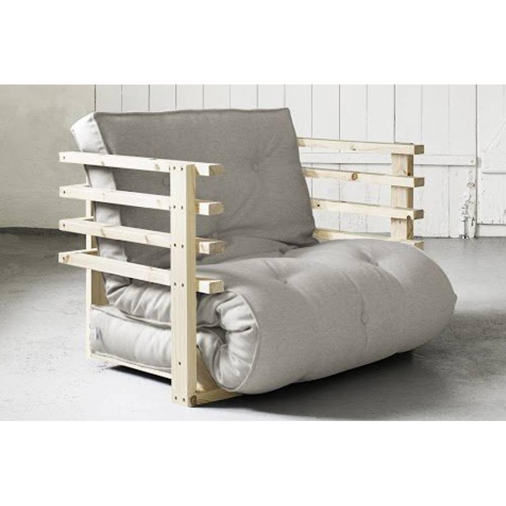 Fauteuils futon canap s et convertibles fauteuil lit en pin massif funk fut - Fauteuil futon convertible ...