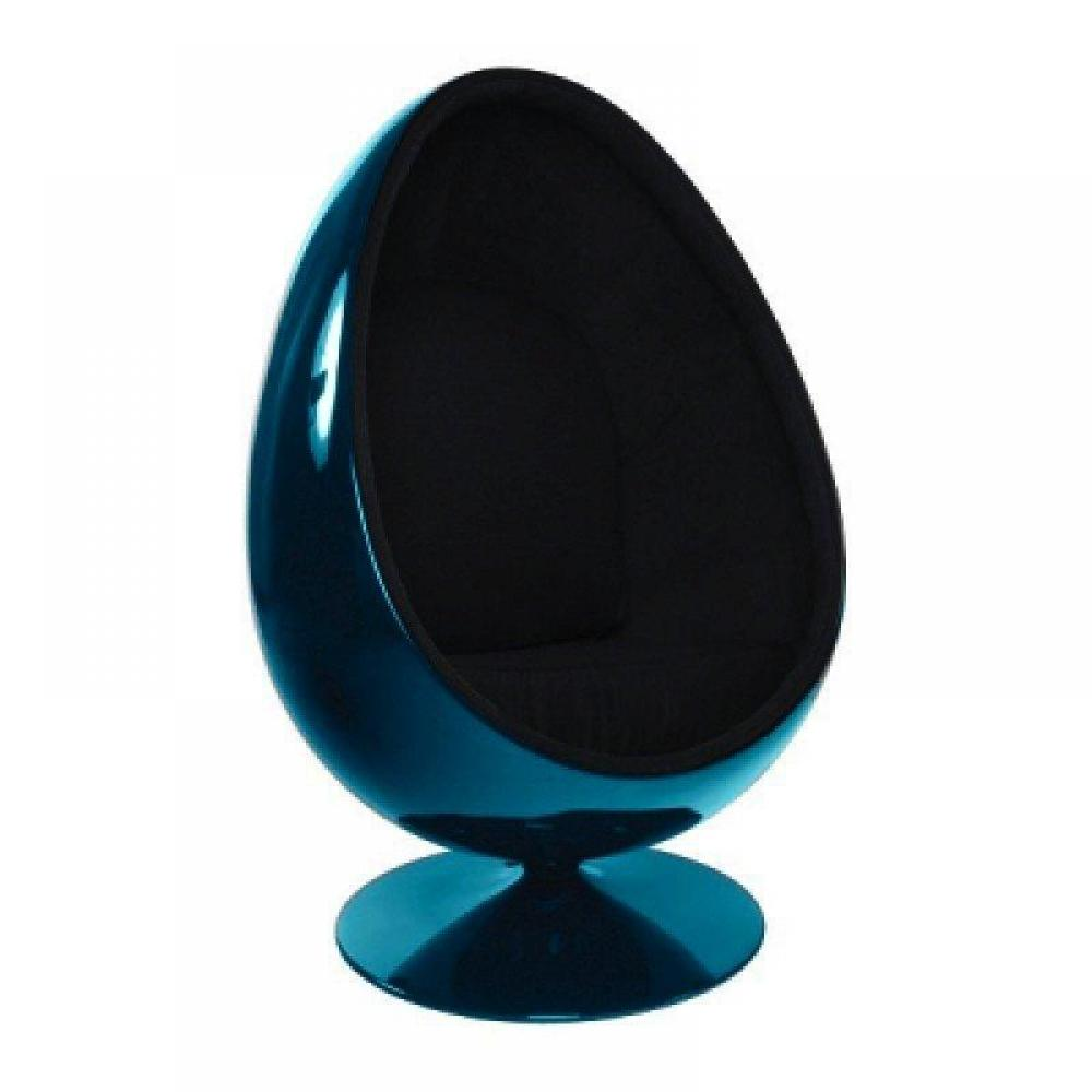 fauteuils oeuf meubles et rangements fauteuil pivotant oeuf egg chair coque bleue int rieur. Black Bedroom Furniture Sets. Home Design Ideas