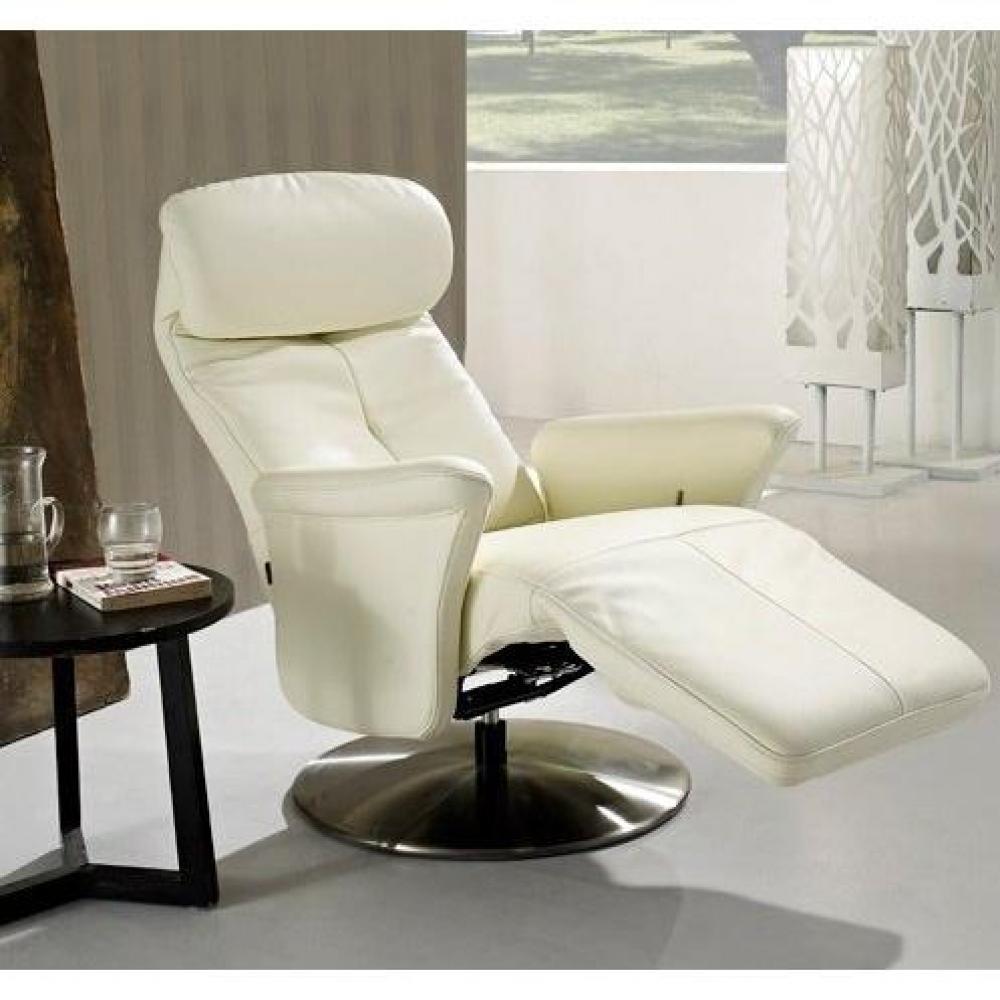Fauteuils relax canap s et convertibles adam fauteuil relax cuir vachette - Fauteuils relax cuir ...