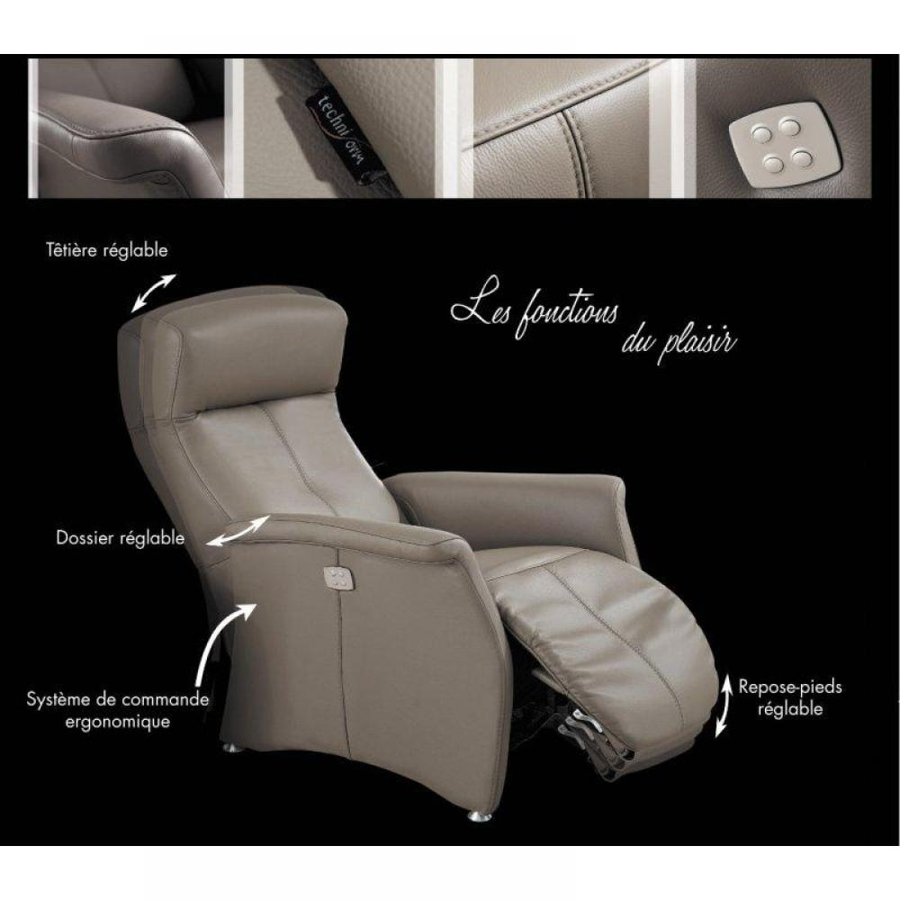Rapido convertibles canap s syst me rapido kingston fauteuil relax lectriq - Fauteuil relax cuir noir ...