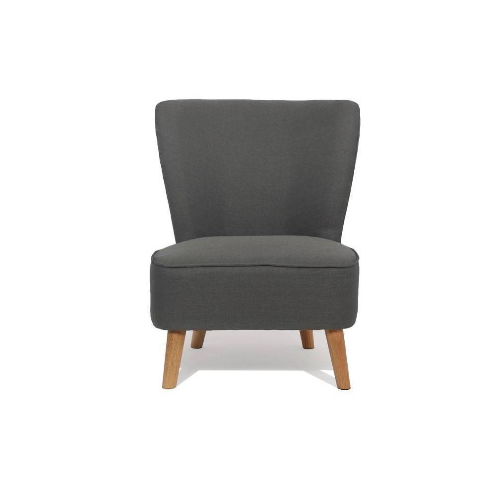fauteuils design fauteuils et poufs fauteuil scandinave s t gris graphite inside75. Black Bedroom Furniture Sets. Home Design Ideas