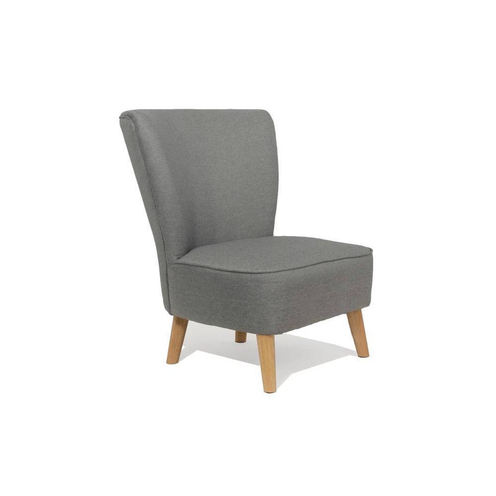 fauteuils design fauteuils et poufs fauteuil scandinave s t gris silver inside75. Black Bedroom Furniture Sets. Home Design Ideas