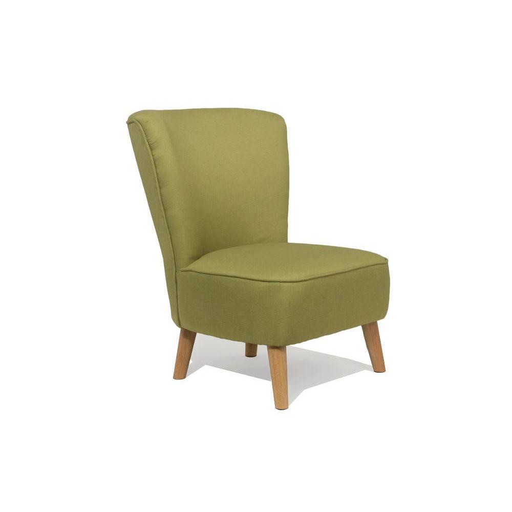 fauteuils design fauteuils et poufs fauteuil scandinave s t vert lime inside75. Black Bedroom Furniture Sets. Home Design Ideas