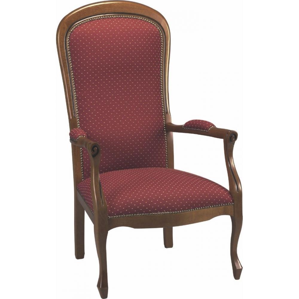 rapido convertibles canap s syst me rapido fauteuil voltaire merisier et tissu bordeaux. Black Bedroom Furniture Sets. Home Design Ideas