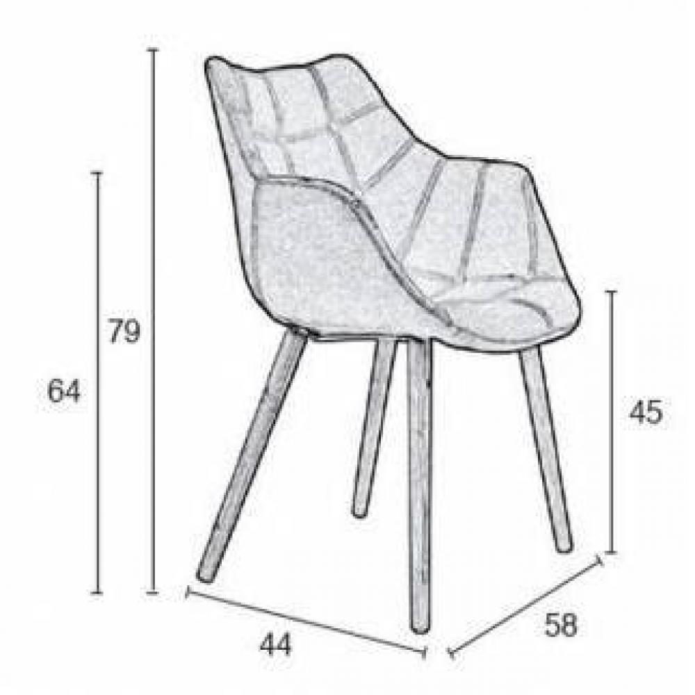 zuiver fauteuil twelve patchwork - Chaise Eleven Patchwork Colors