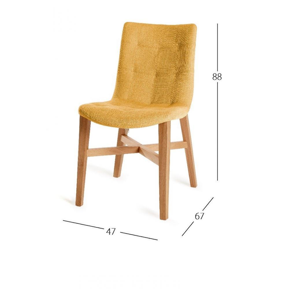 chaises tables et chaises chaise design florence jaune. Black Bedroom Furniture Sets. Home Design Ideas