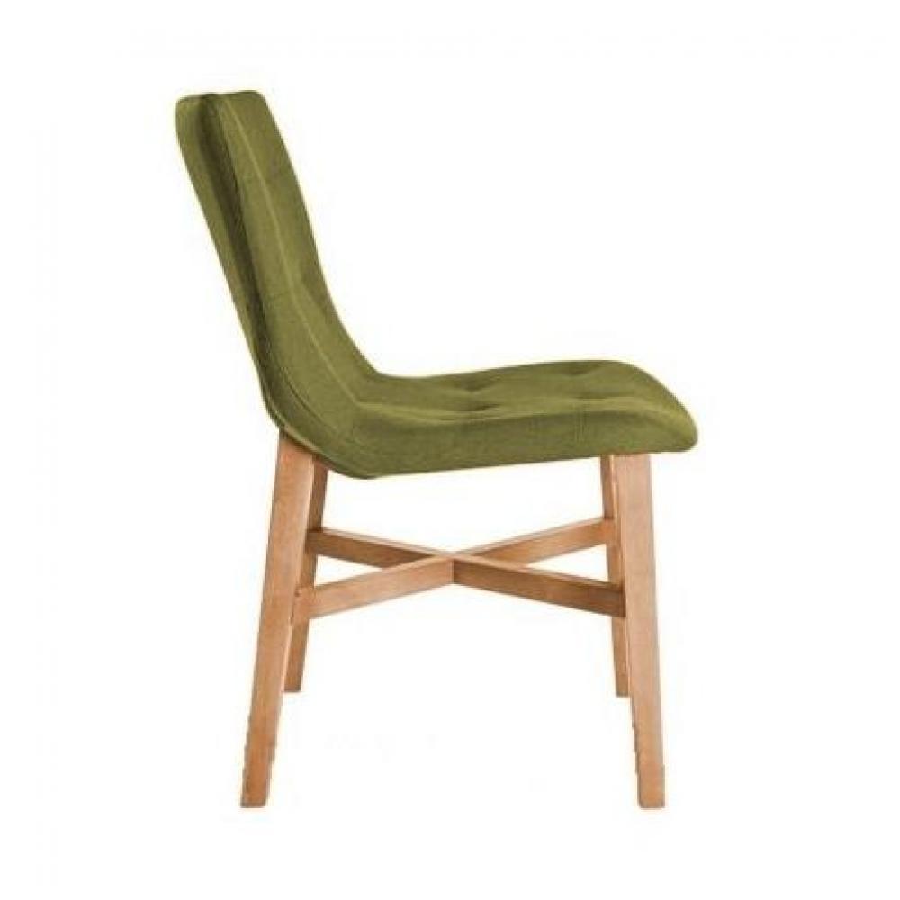 Chaises tables et chaises chaise design florence verte en ch ne massif in - Chaises chene massif ...