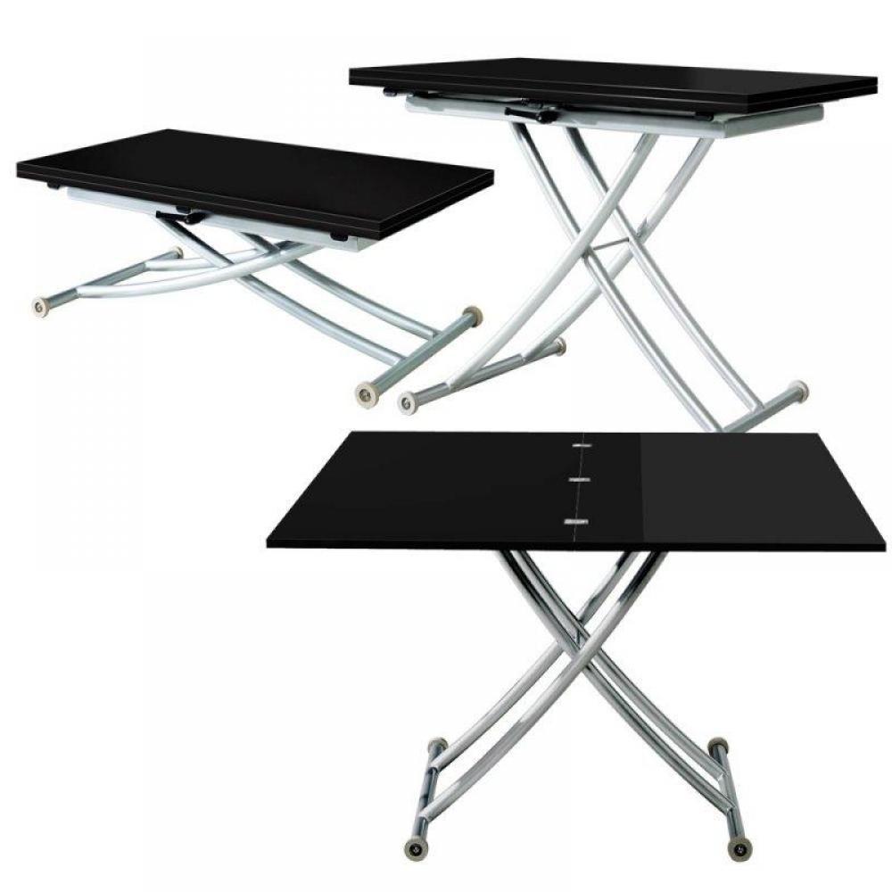 table basse extensible relevable mobilier sur enperdresonlapin. Black Bedroom Furniture Sets. Home Design Ideas