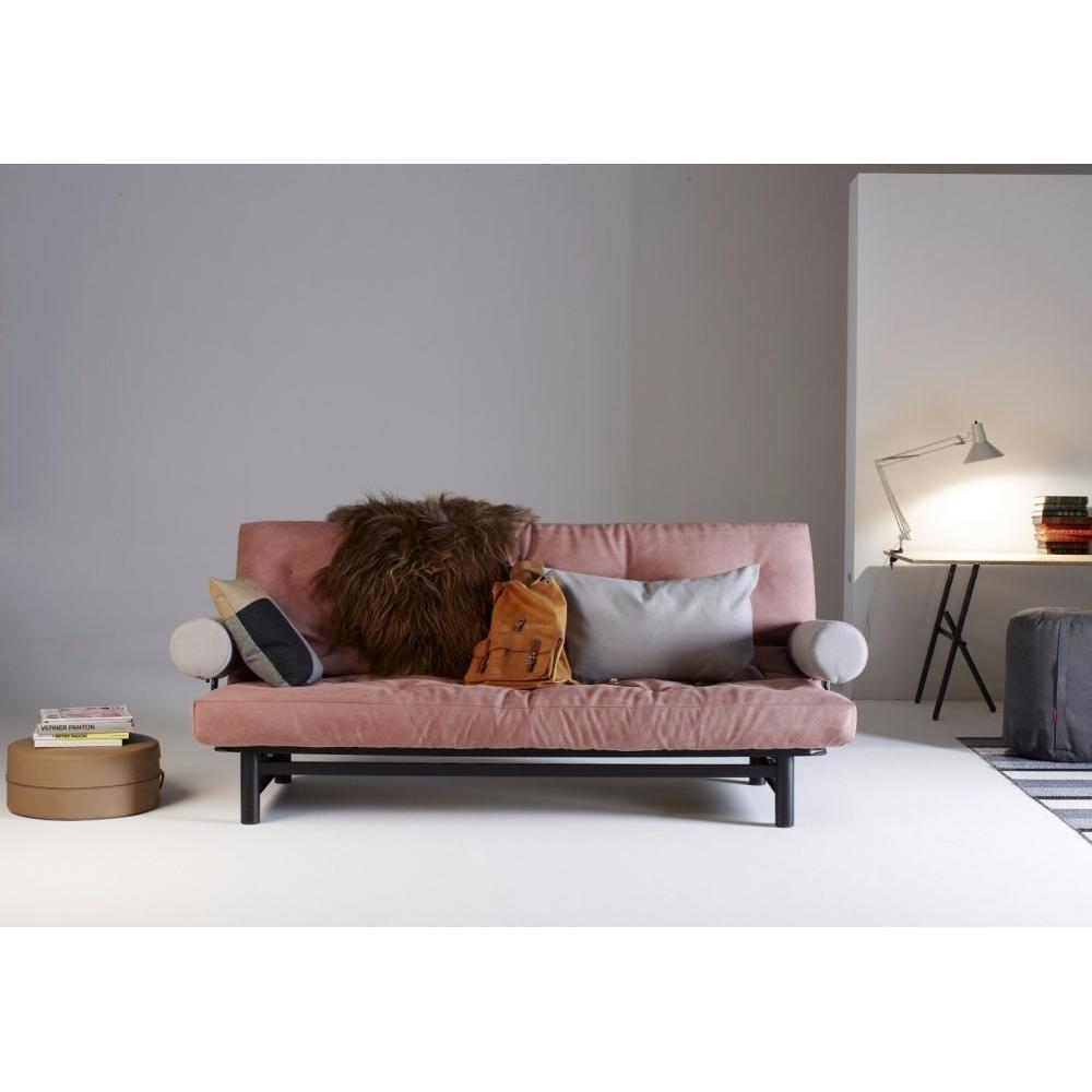 Canap s futon canap s et convertibles innovation living fuji clic clac mate - Clic clac accoudoirs ...