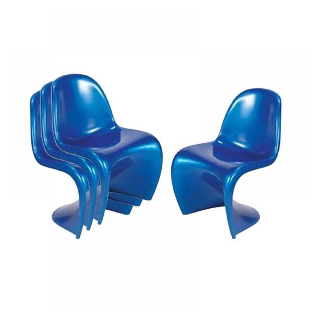 chaises meubles et rangements lot de 2 chaises ghost. Black Bedroom Furniture Sets. Home Design Ideas