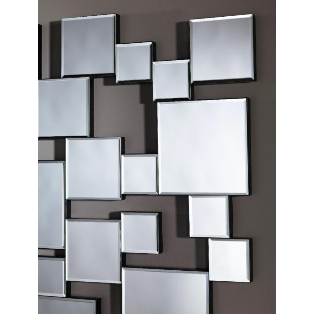 miroirs meubles et rangements gizeh miroir mural design multi carreaux inside75. Black Bedroom Furniture Sets. Home Design Ideas