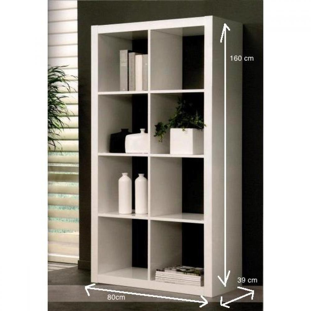 biblioth que design laque blanc brillant porte coulissante. Black Bedroom Furniture Sets. Home Design Ideas