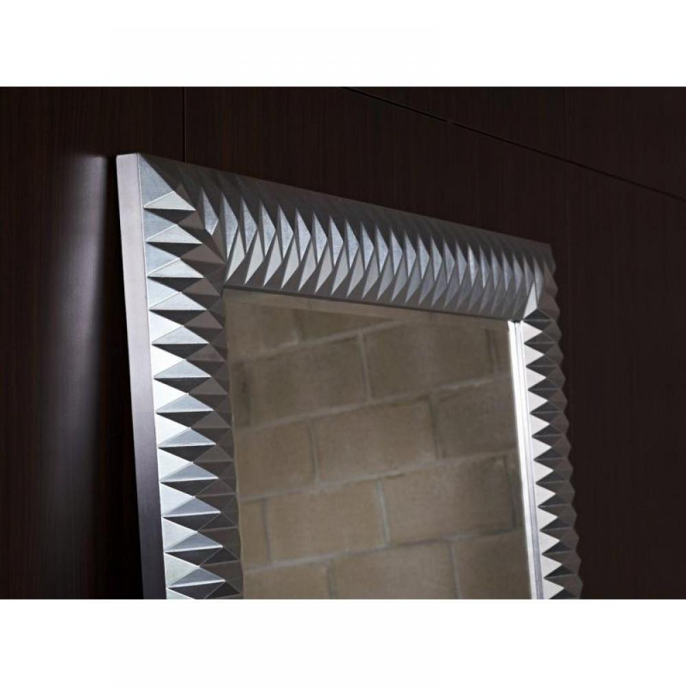 Miroirs canap s et convertibles hall grand miroir mural for Miroir design argent