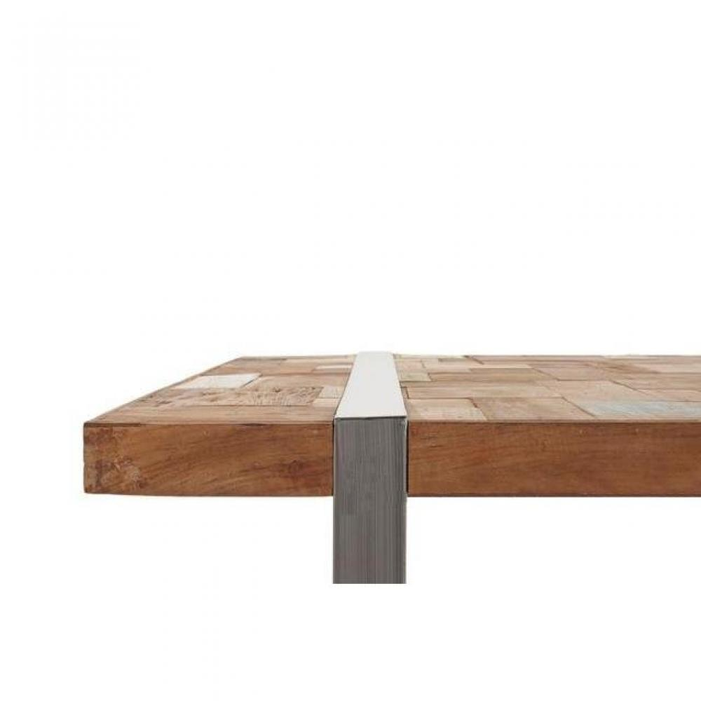 Tables basses tables et chaises table basse h ritage for Table basse bois teck