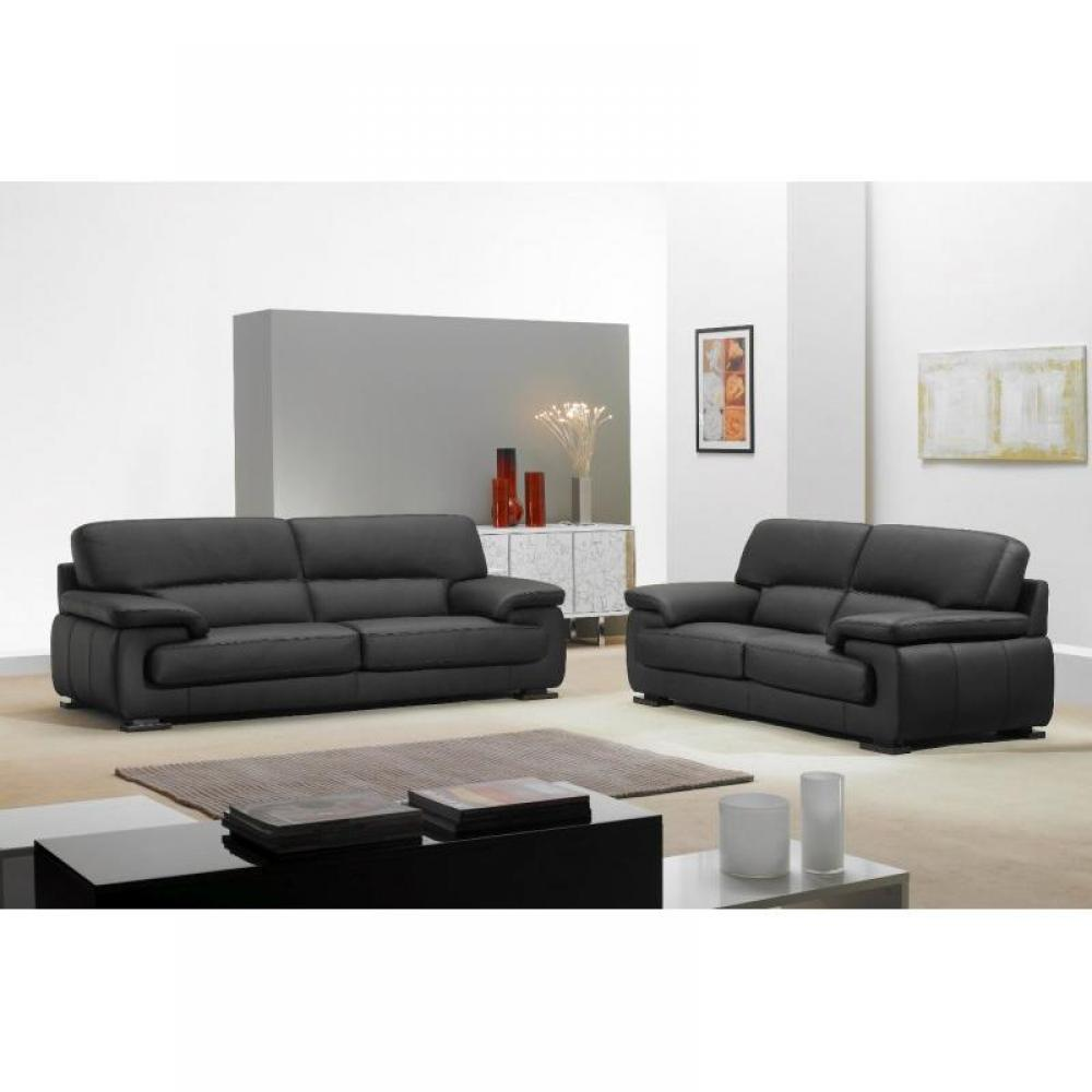 canap s fixes canap s et convertibles hermes canap cuir noir 2 places inside75. Black Bedroom Furniture Sets. Home Design Ideas