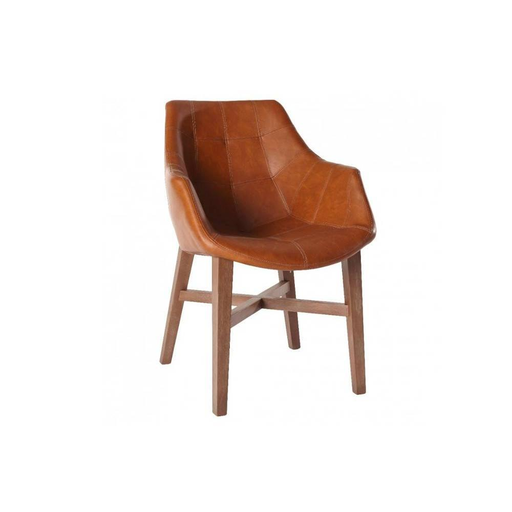 Chaises tables et chaises chaise design hermes cognac en for Chaise photo
