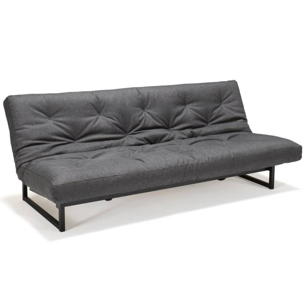 innovation living fraction clic clac graphite design convertible lit 200 120cm ebay. Black Bedroom Furniture Sets. Home Design Ideas