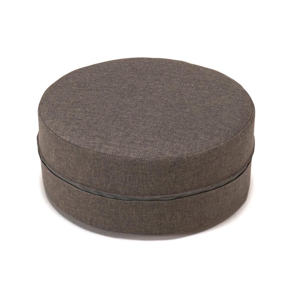poufs et reposes pieds canap s et convertibles innovation living pouf deconstructed taupe 50. Black Bedroom Furniture Sets. Home Design Ideas