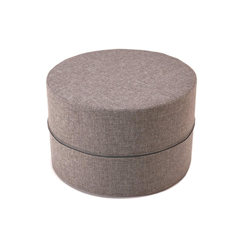 fauteuils et poufs fauteuils et poufs innovation living pouf deconstructed taupe mixed dance. Black Bedroom Furniture Sets. Home Design Ideas