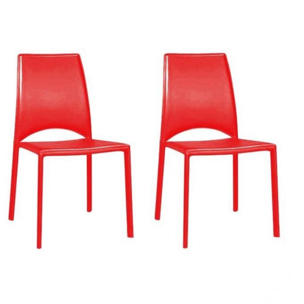 Chaises tables et chaises lot de 2 chaise de salon - Chaise de salon design ...