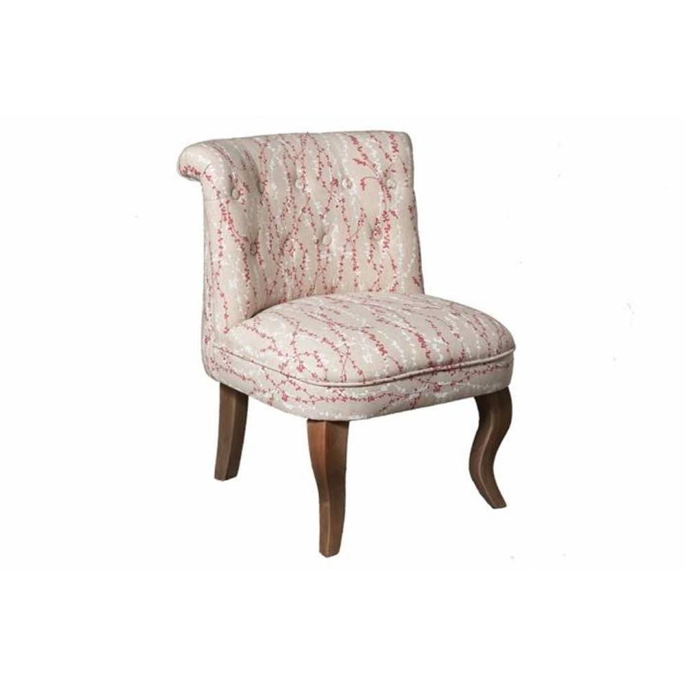 fauteuils design fauteuils et poufs fauteuil design cosy kate en coton tissu fleuri inside75. Black Bedroom Furniture Sets. Home Design Ideas