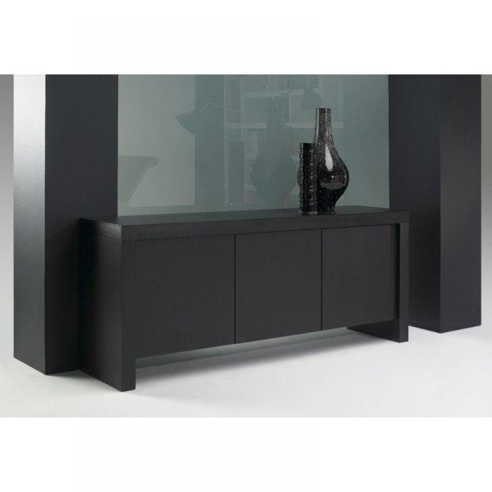 Buffets, meubles et rangements, TemaHome KOBE buffet design wengé 3 portes   -> Achat Buffet Wengé