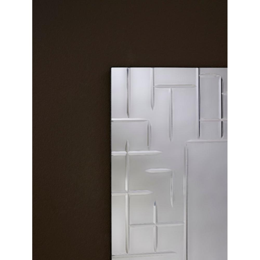 miroirs meubles et rangements labyrinthe miroir mural rectangulaire travaill une pi ce inside75. Black Bedroom Furniture Sets. Home Design Ideas