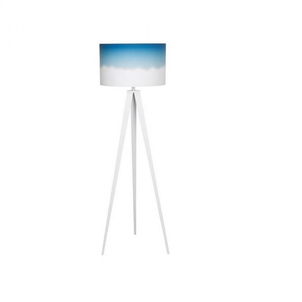 lampadaire zuiver tripod dip dye bleu place du mariage. Black Bedroom Furniture Sets. Home Design Ideas