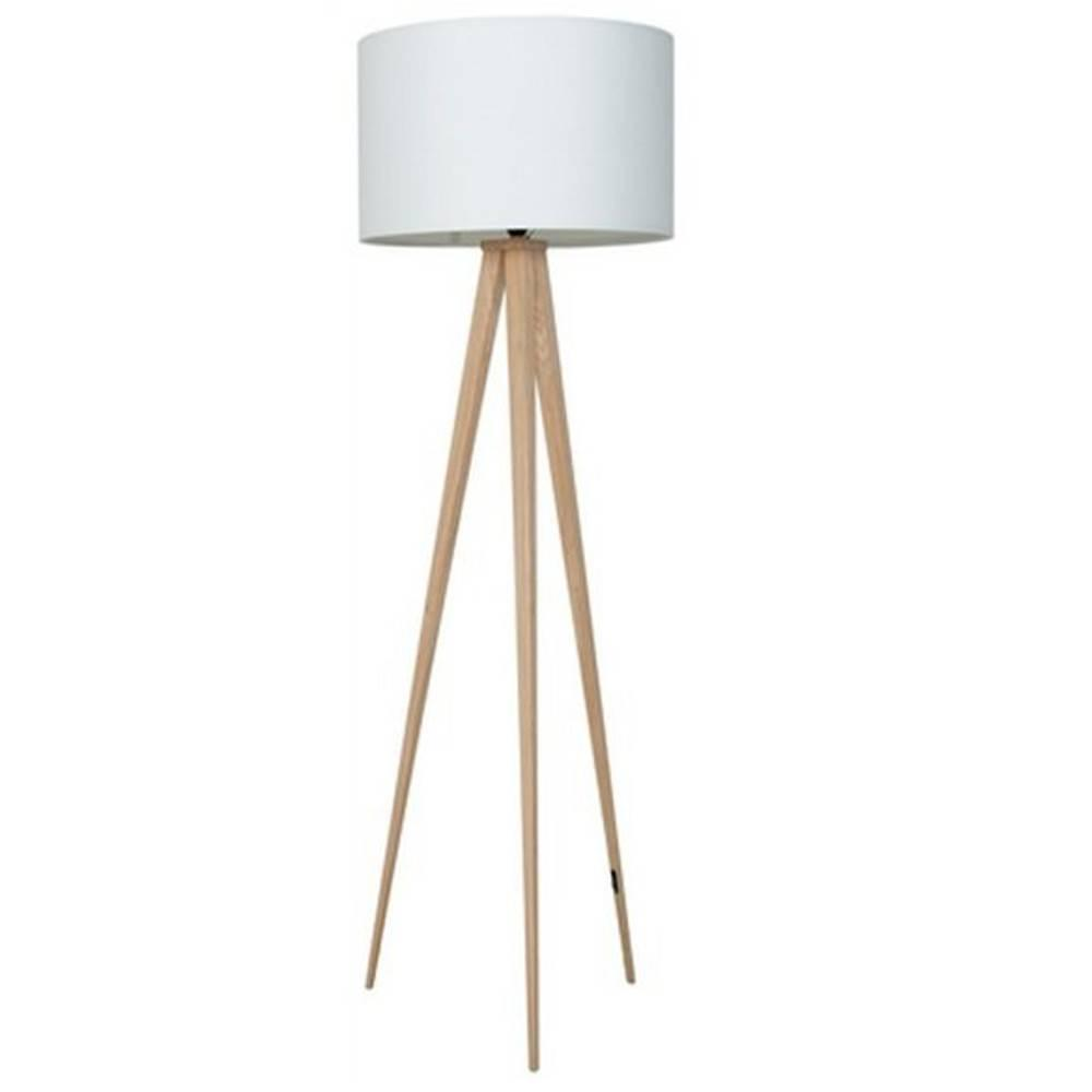 lampadaire zuiver tripod wood blanc place du mariage. Black Bedroom Furniture Sets. Home Design Ideas