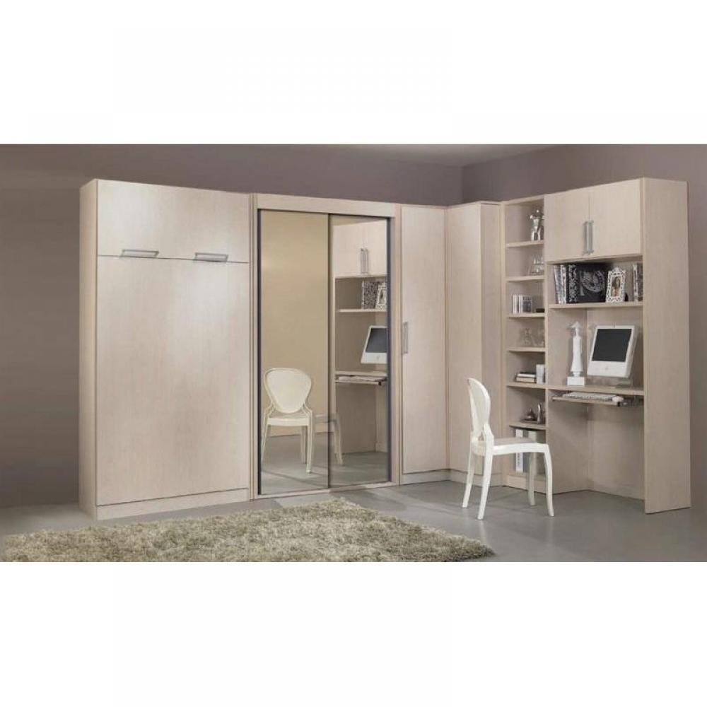 armoire lit 1 place armoires lits escamotables armoire lit lausanne couchage 90 200cm inside75. Black Bedroom Furniture Sets. Home Design Ideas