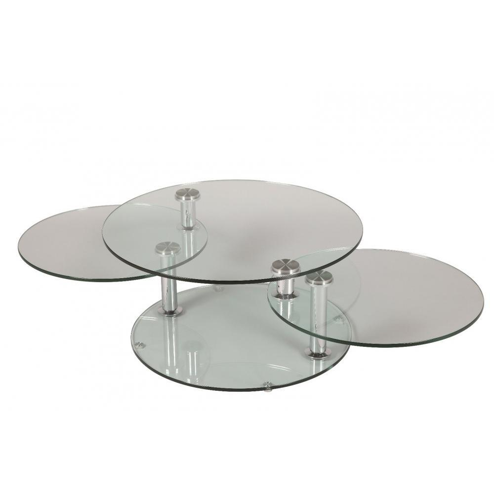 Tables modulables tables et chaises table basse design for Set de table pour table en verre