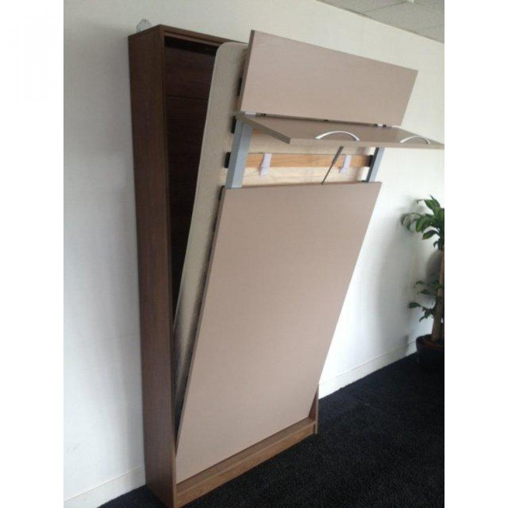 Lits escamotables armoires lits escamotables armoire lit murale 1 place li - Lit 2 places escamotable ...