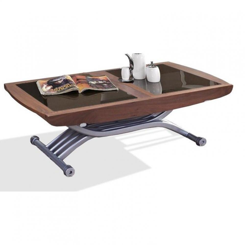 Tables basses tables et chaises table relevable lift - Table basse relevable extensible alinea ...