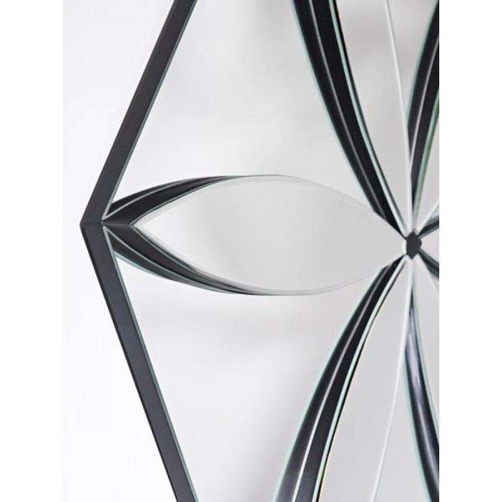 Miroirs d corations liliane miroir mural design for Miroir hexagonal