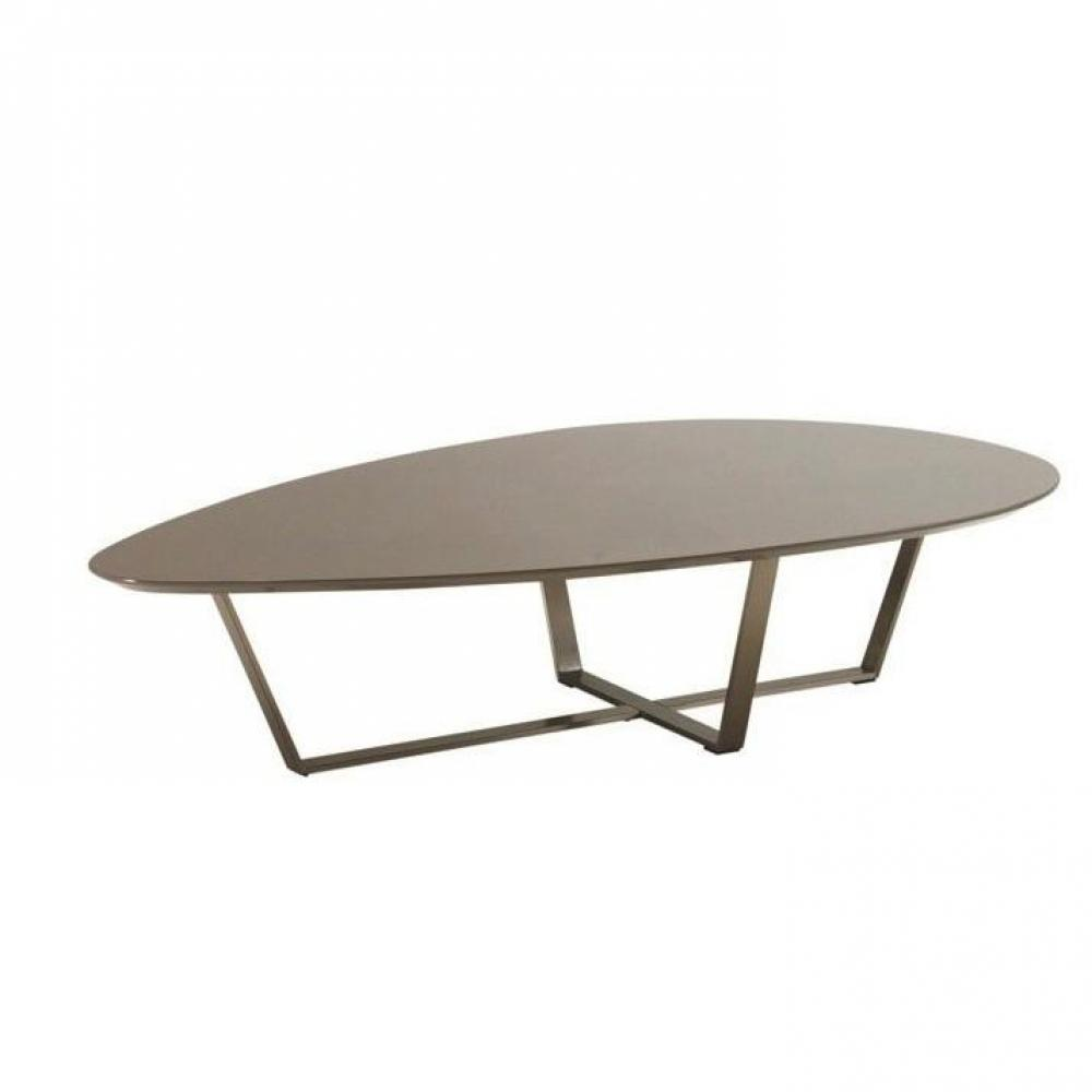 Tables basses meubles et rangements table basse design - Table basse taupe laque ...