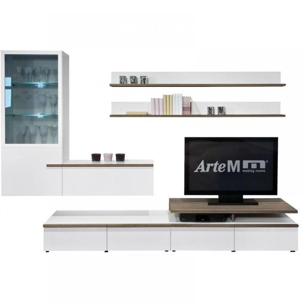 Meubles tv, meubles et rangements, Composition TV MEDIA HOME Design LINEA L -> Composition Meuble Tv