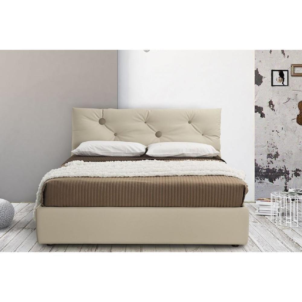 lits chambre literie lit coffre montrouge 160 200cm avec t te de lit coussin capitonn. Black Bedroom Furniture Sets. Home Design Ideas