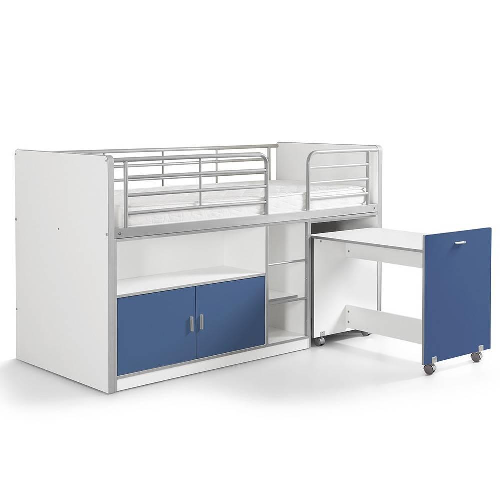 lits mi hauteur chambre literie lit mi haut compact. Black Bedroom Furniture Sets. Home Design Ideas