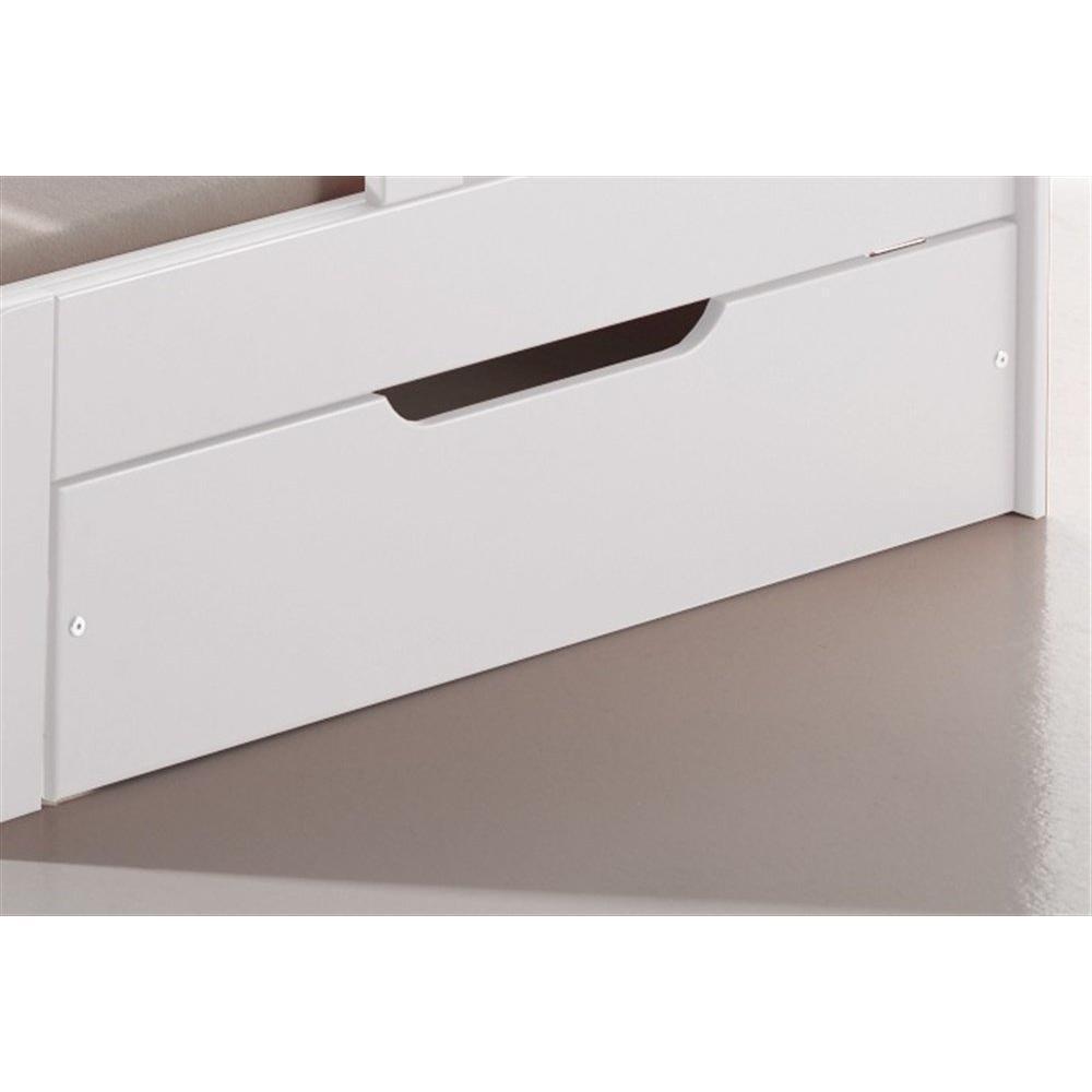 lits enfant chambre literie lit volutif kais blanc. Black Bedroom Furniture Sets. Home Design Ideas