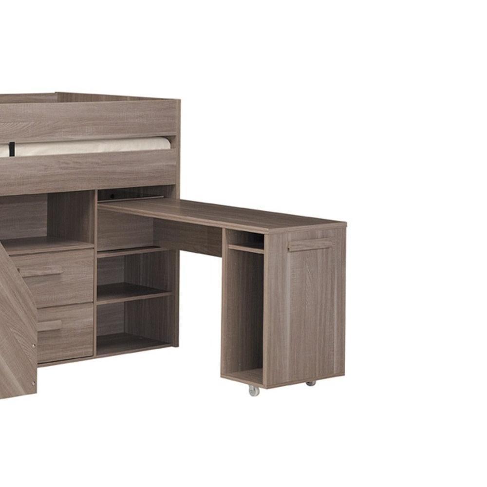 chaises meubles et rangements lit mi haut compact gimli. Black Bedroom Furniture Sets. Home Design Ideas
