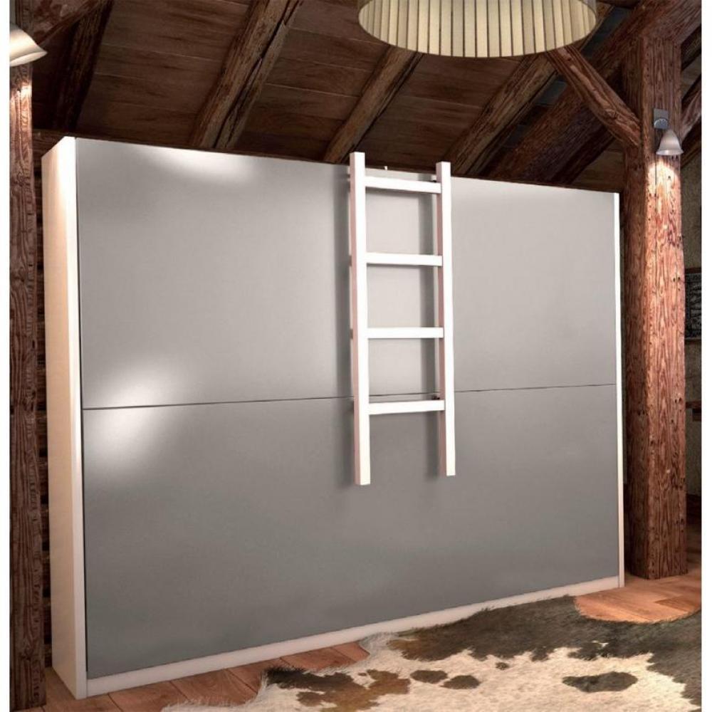 Armoire lits superpos s armoires lits escamotables - Lit superpose sur mesure ...