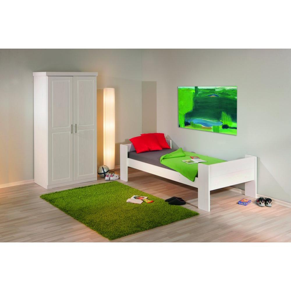 Lits superpos s chambre literie lit superpos dream well 3 en pin mas - Lit superpose 3 couchage ...