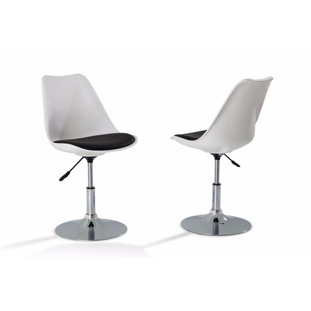 chaises de bureau tables et chaises lot de 4 chaises de. Black Bedroom Furniture Sets. Home Design Ideas