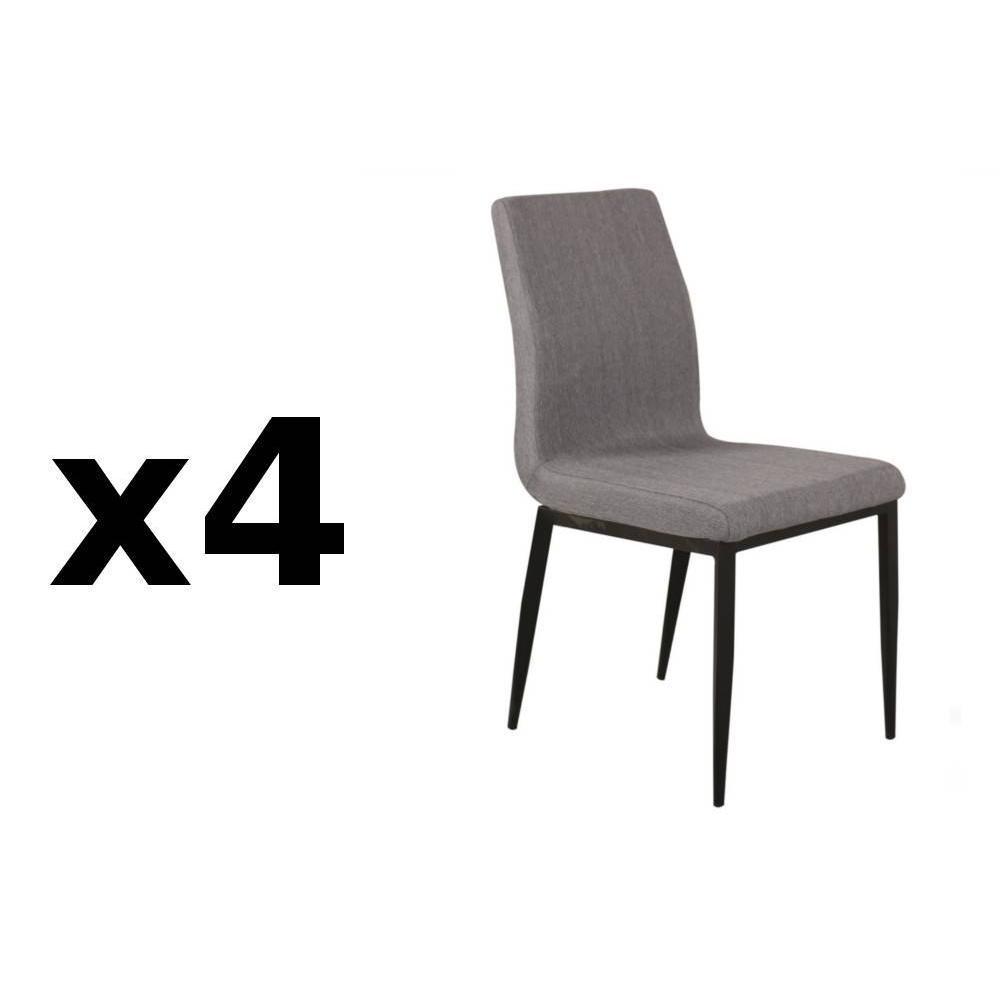 chaises tables et chaises chaise vip design tissu beige inside75. Black Bedroom Furniture Sets. Home Design Ideas
