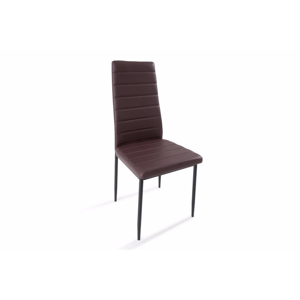 Chaises tables et chaises lot de 6 chaises design nosa - Chaises en tissus design ...