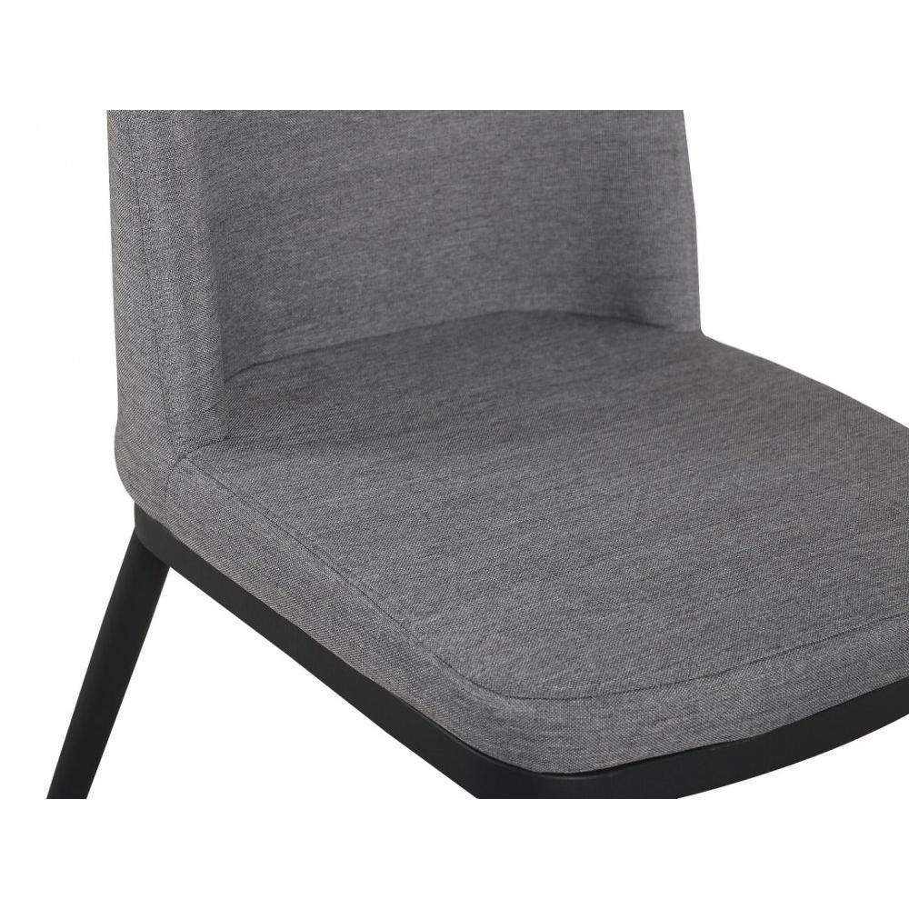 Lots de chaises tables et chaises lot de 6 chaises links design tissu gris - Lot de 6 chaises grises ...