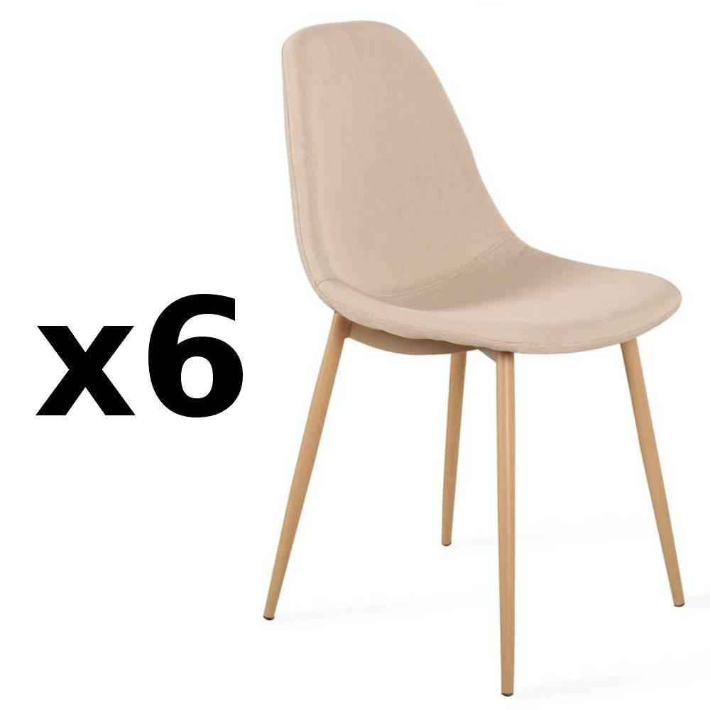 Chaises tables et chaises chaise stockholm design tissu for 6 chaises scandinaves