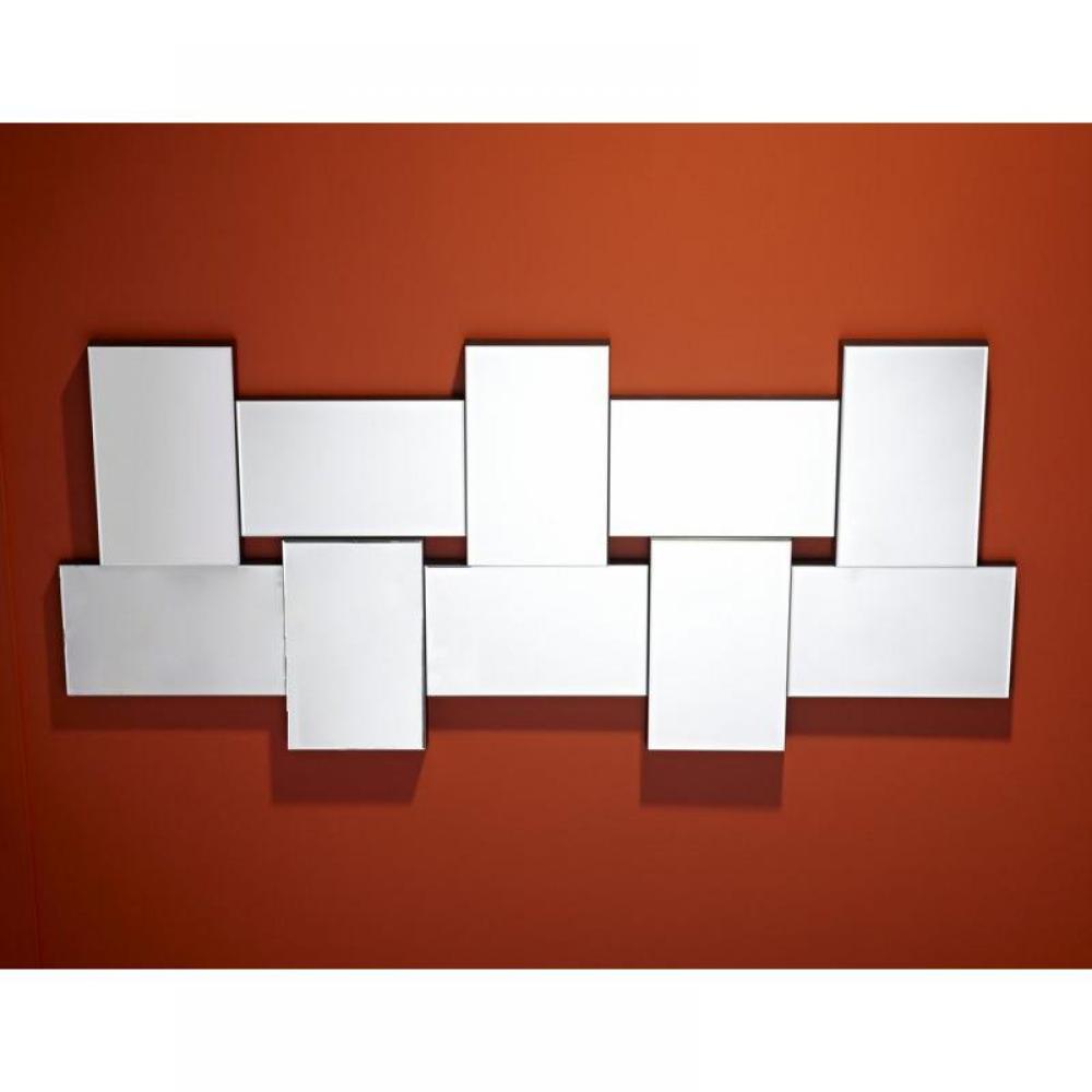Miroirs meubles et rangements louxor miroir mural design for Miroir mural design