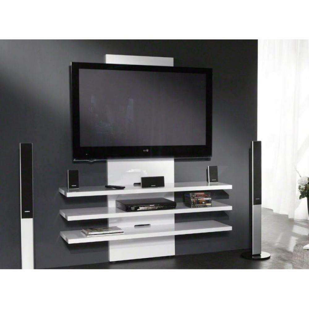 meuble tv mur tele blanc mur tele blanc trouvez mur tele. Black Bedroom Furniture Sets. Home Design Ideas